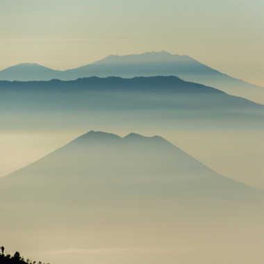 Brume matinale sur le Bromo par Galby