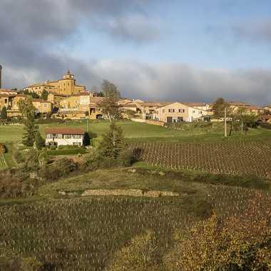 Oingt village en Beaujolais par patrick69220