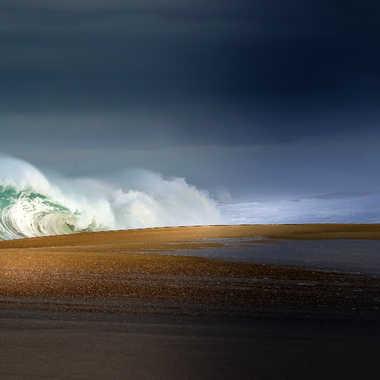 sur la vague par Oxydo71