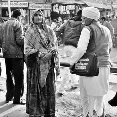 Scène de rue à Bikaner par patrick69220
