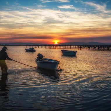 Pêcheur du soir par Dinah