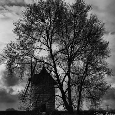 Le Moulin sur la route de Bourg-Achard par objectif-photos