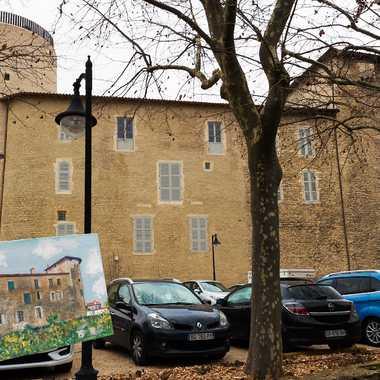 Sur les pas d'Utrillo ,le château des tours par patrick69220