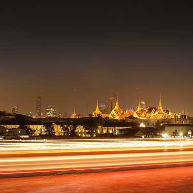 Bangkok lumières sur le fleuve par patrick69220