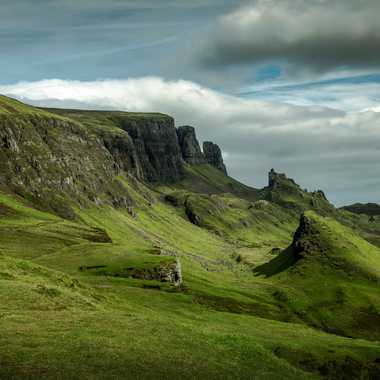 Montagne de Skye par leker
