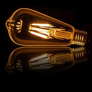 Ampoule sur plexi par blaise06