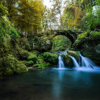 La Cascade merveilleuse par Bourgeois Adrien