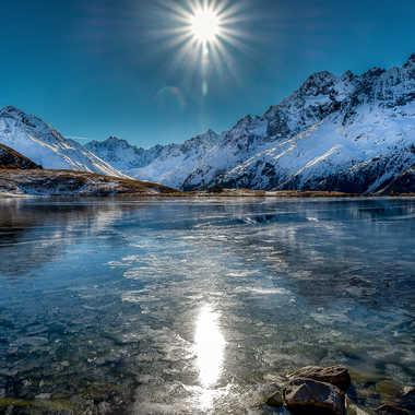 Lac gelé par leker