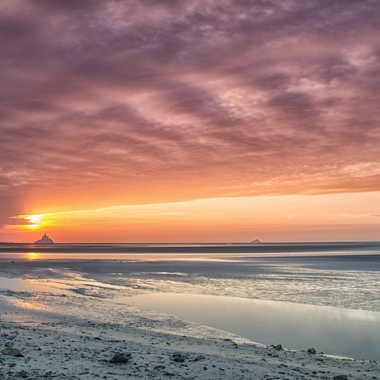 Ciel de la Baie par Jeananne