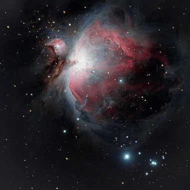 La nébuleuse d'Orion par Paflapente