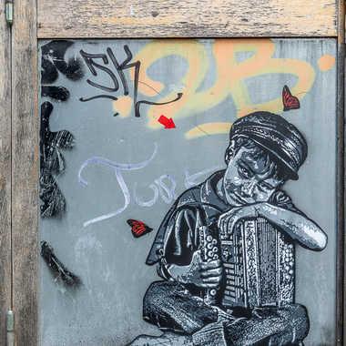 Street art tableau 13 par Basile59