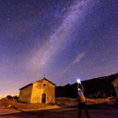 Voie lactée ciel de Vaucluse par Jose Fajardo