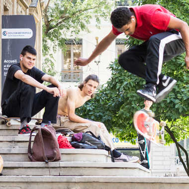Skateboarder par patrick69220