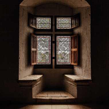 La fenêtre du château par Zazou