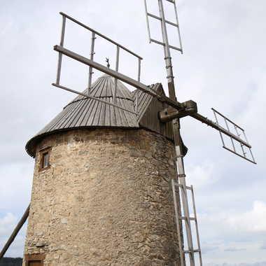 Le moulin de pargeat par Faugere