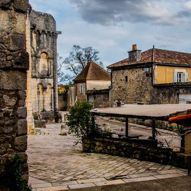 Cité médiévale (Version couleur) par Philipounien