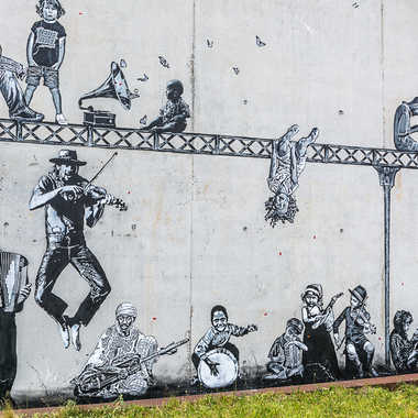Street art tableau 10 par Basile59