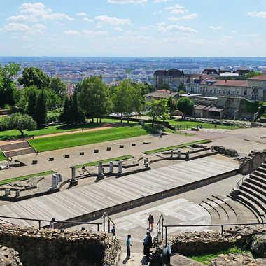 Théâtre Romains par sunrise