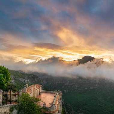 Sunrise au Nid d'Aigle par Franck06
