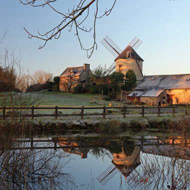 Moulin au petit matin par Eric_1106