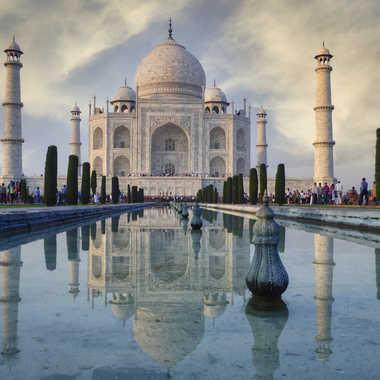 Visite au Taj Mahal par Jeanjean