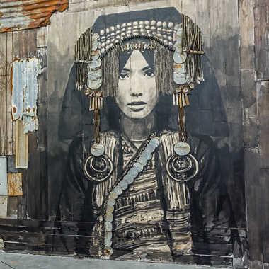 Street art tableau 7 par Basile59