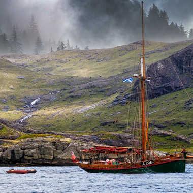Les côtes écossaises par Jeanjean