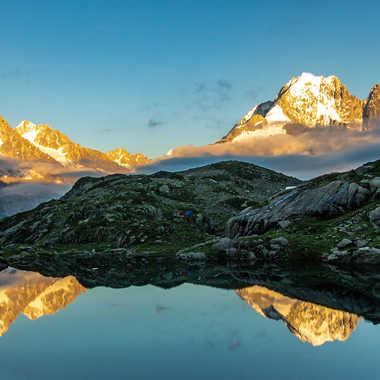 Lac au sommet. par jeromeh