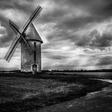 Moulin N&B par 3pphoto