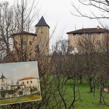 """Sur les pas d'Utrillo """"Le château de Saint Bernard"""" par patrick69220"""