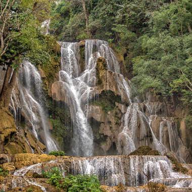 Tat Kuang Si cascade du Laos par patrick69220