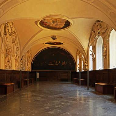 Réfectoire du palais Saint-Pierre par sunrise