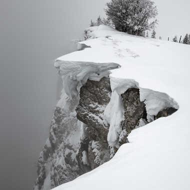 Jour de neige sur le Mont d'Or par Alcalose