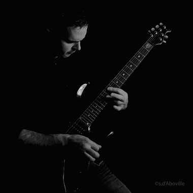 Autoportrait Guitaristique par Stéphane Sda