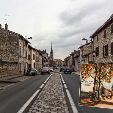 La rue d'Anse par Utrillo par patrick69220