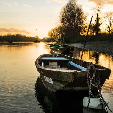 Bateaux de Loire au port de Luynes par Neitag37