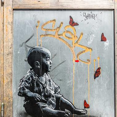 Street art tableau 11 par Basile59