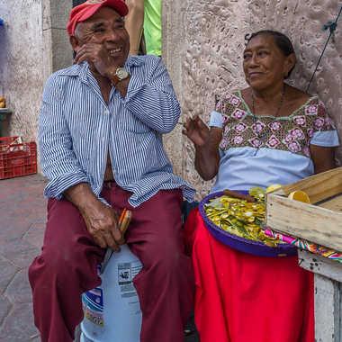 la joie d'un couple par Basile59