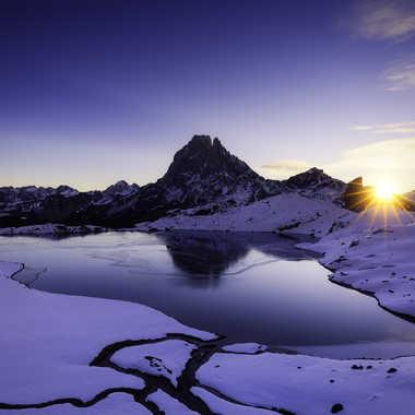 Lever de solei lsur le lac d'Ayous par Photo_amateur78