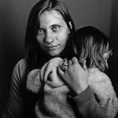 Portrait mère au calotype par GMH_
