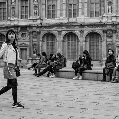 Cour Carrée du Louvre par Buissem