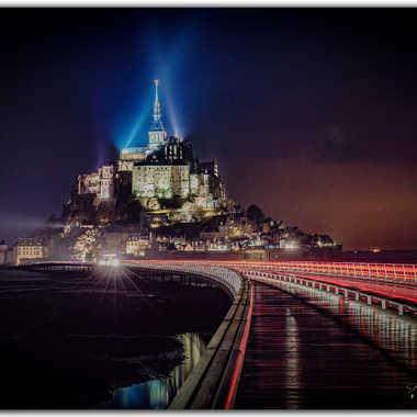 Mont St Michel sous la pluie par lgdq74
