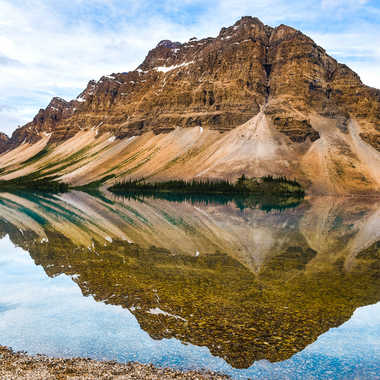 Reflets sur le lac Bow par rmgelpi