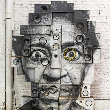 Street art tableau 21 par Basile59