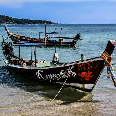 Barques de Thailande 2 par Buissem