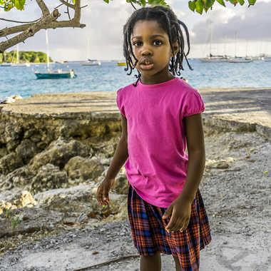 petite Guadeloupéenne par Basile59
