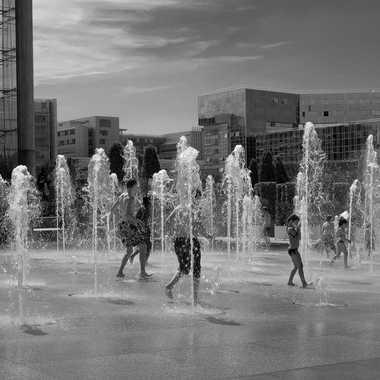 Jeu d'eau par Stéphane Sda