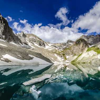 Lac des Béraudes par DFluzin