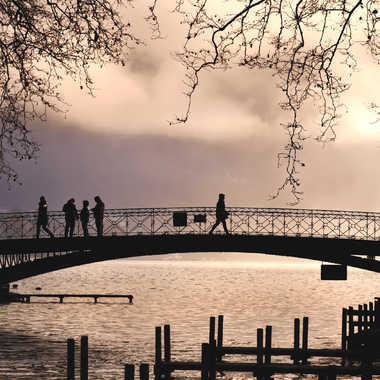 Le pont des amours II par Jeanjean