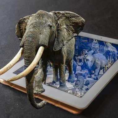 Tablette 3D ... par Buissem